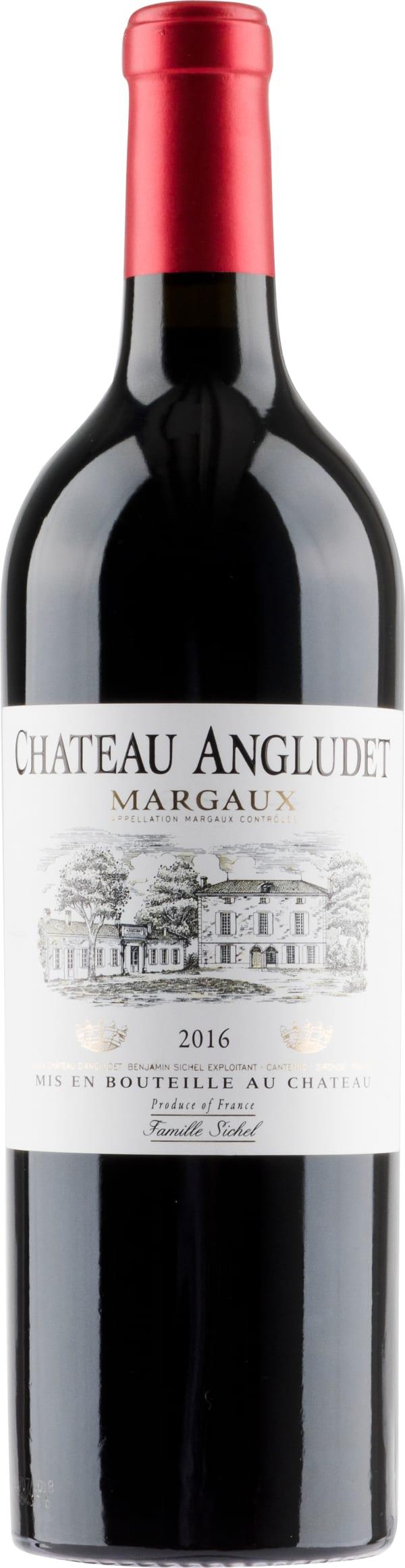 Château Angludet 2016
