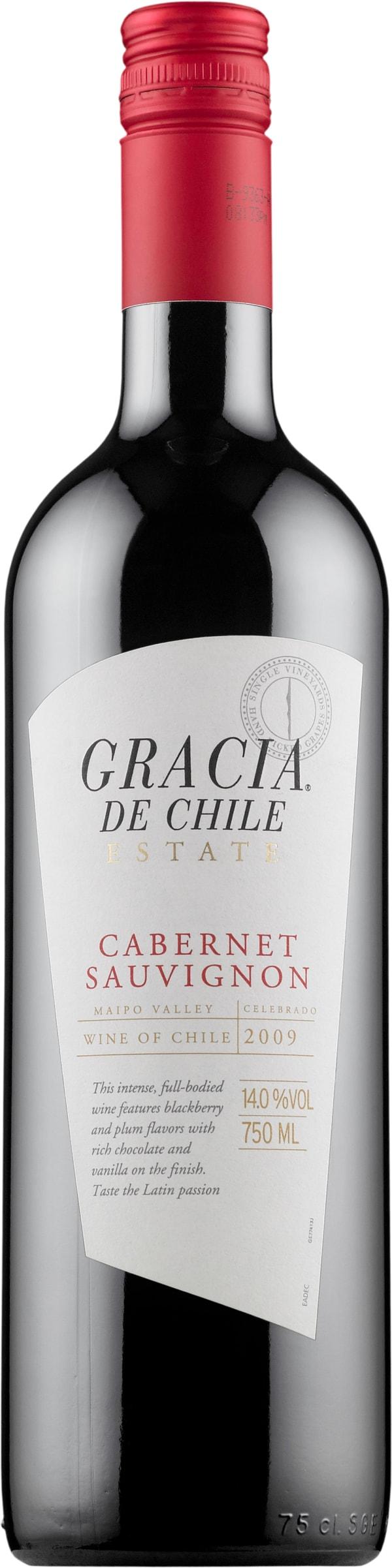 Gracia de Chile Cabernet Sauvignon 2018