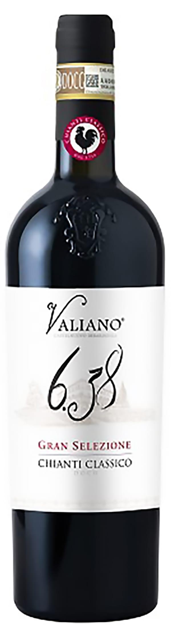 Piccini Valiano 6.38 Chianti Classico Gran Selezione 2011