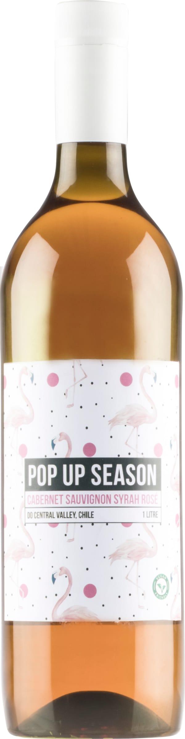 Pop Up Season Cabernet Sauvignon Syrah Rosé  2018 plastic bottle