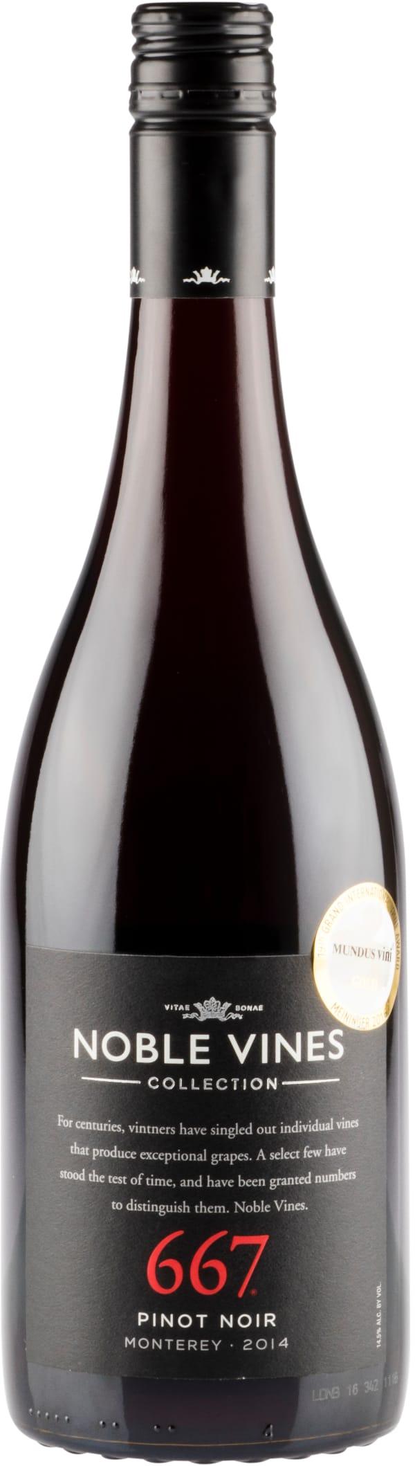 Noble Vines 667 Pinot Noir 2016