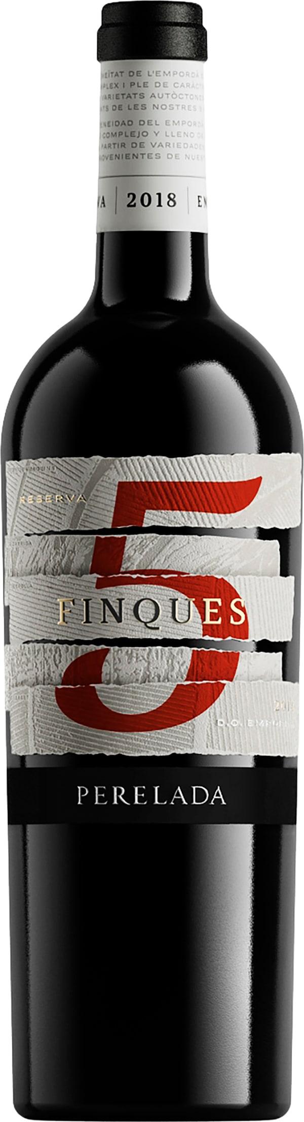 Perelada 5 Finques Reserva 2014