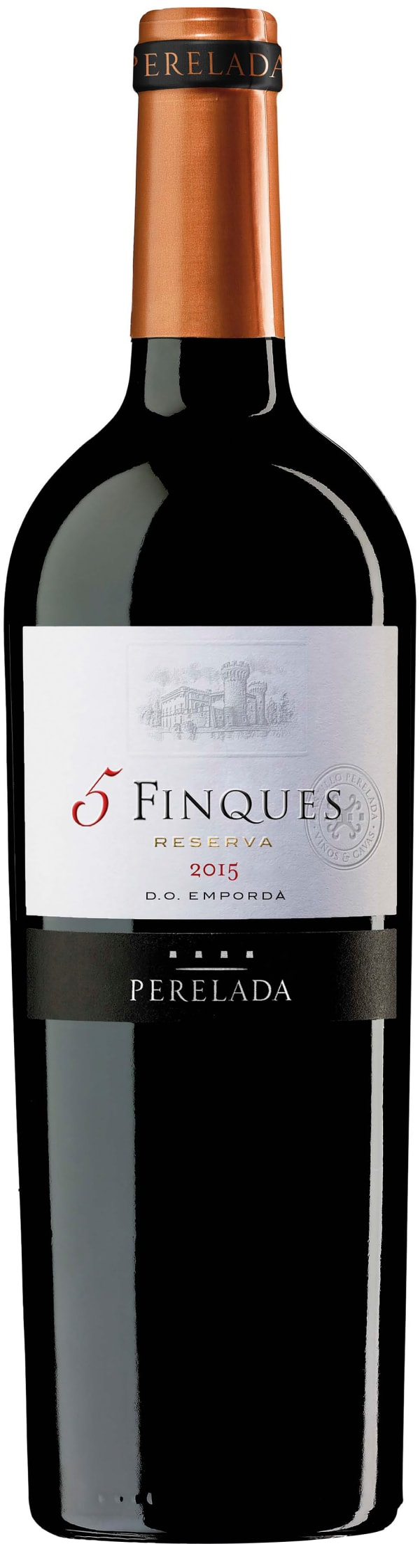 Perelada 5 Finques Reserva 2015