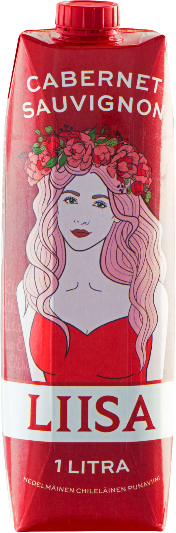 Liisa Cabernet Sauvignon carton package