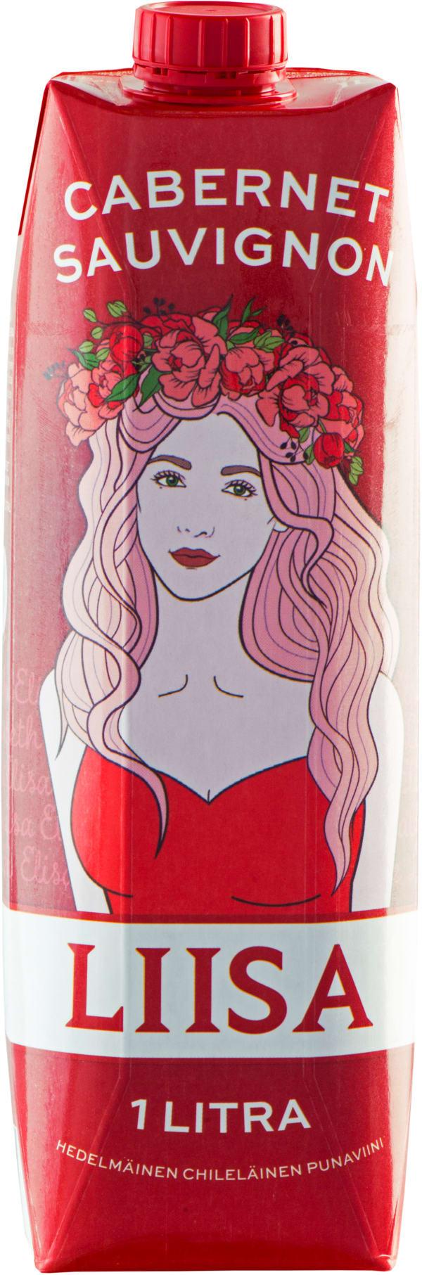 Liisa Cabernet Sauvignon kartongförpackning