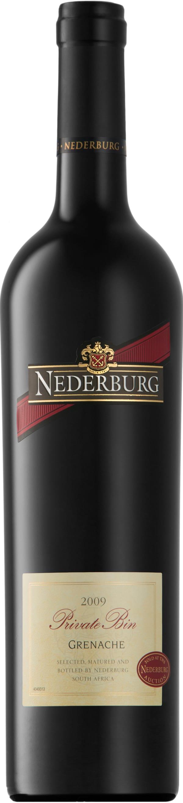 Nederburg Private Bin Grenache 2009
