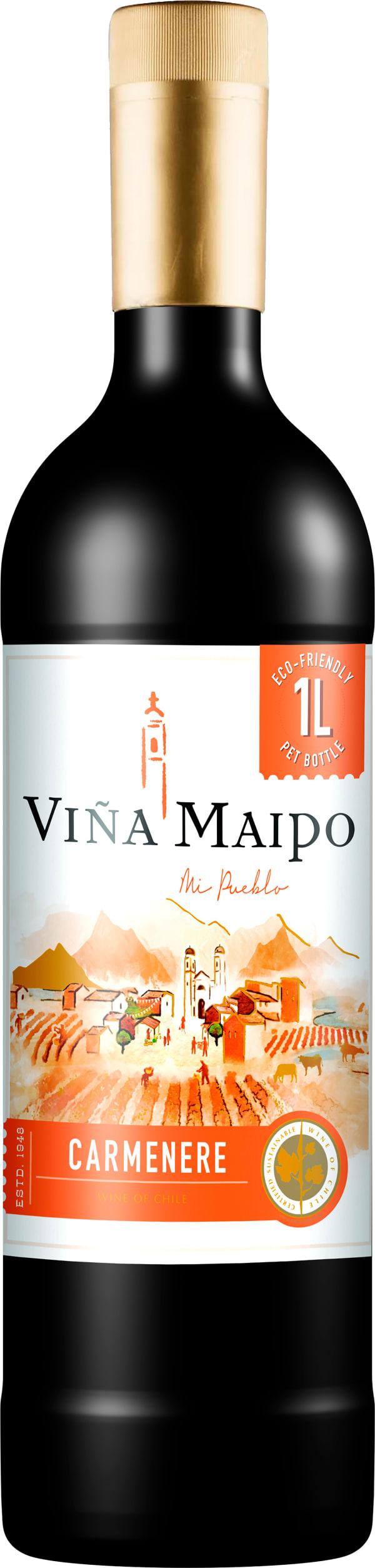 Viña Maipo Mi Pueblo Carmenere 2018 plastic bottle