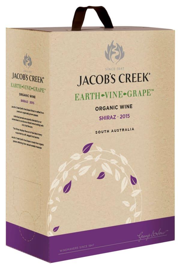Jacob's Creek Earth Vine Grape Shiraz 2016 bag-in-box