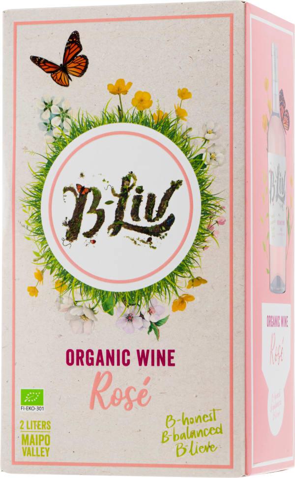 B-Liv Organic Wine Rosé 2020 bag-in-box