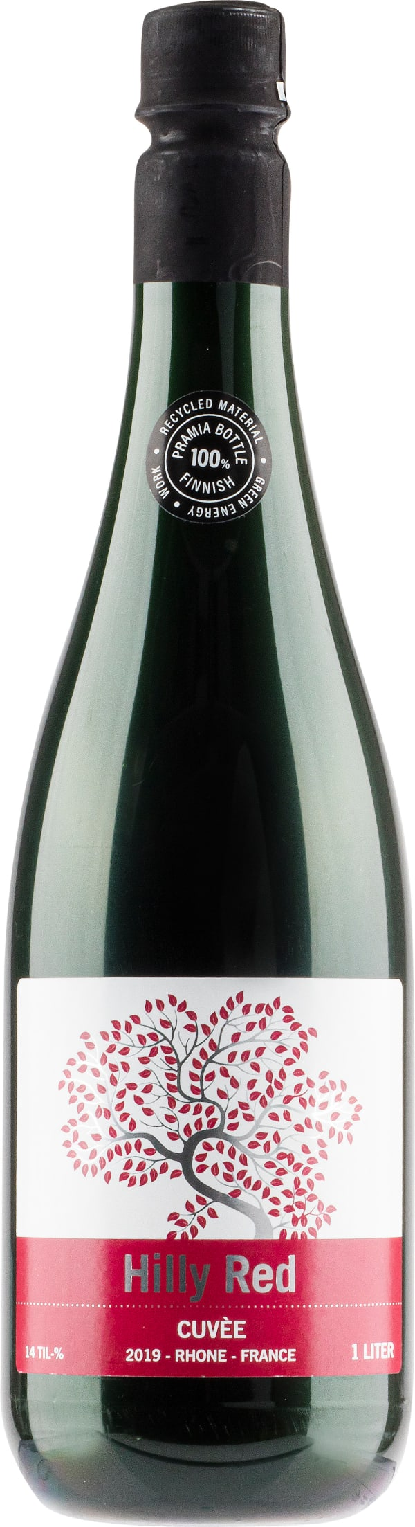 Hilly Red Cuvée 2019 plastic bottle