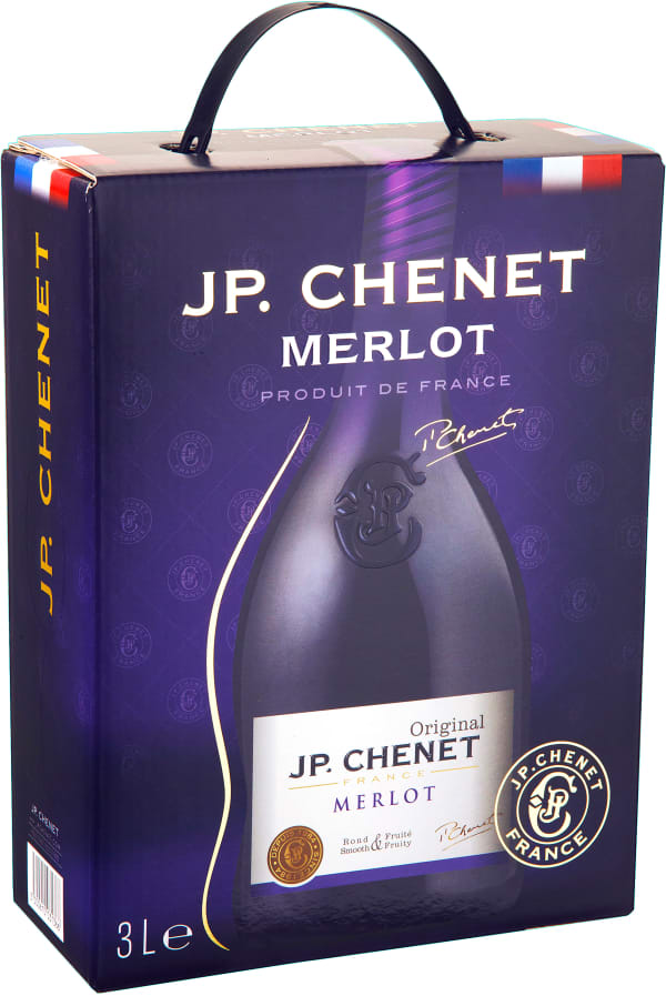 JP. Chenet Merlot 2017 bag-in-box