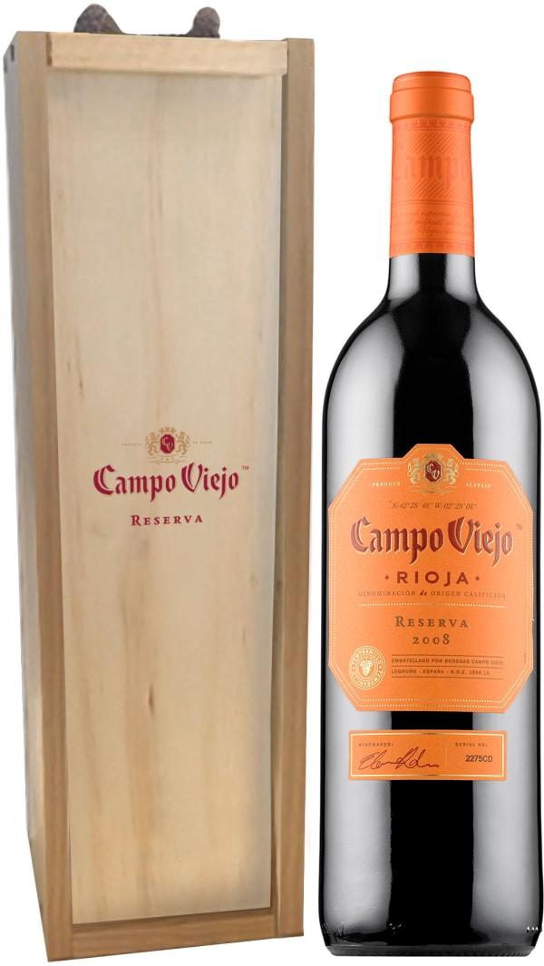 Campo Viejo Reserva 2014 presentförpackning