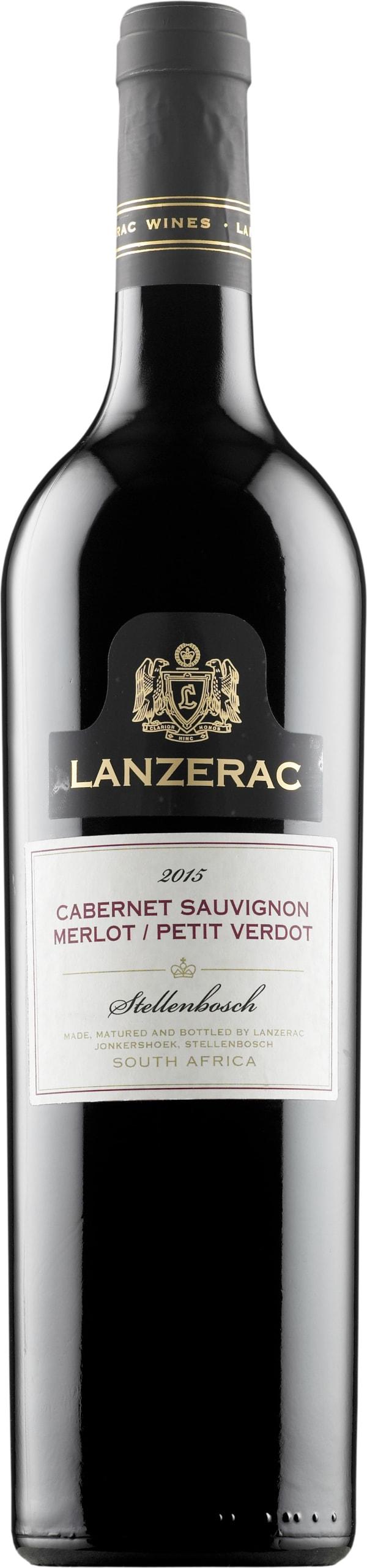 Lanzerac Cabernet Sauvignon Merlot Petit Verdot 2015