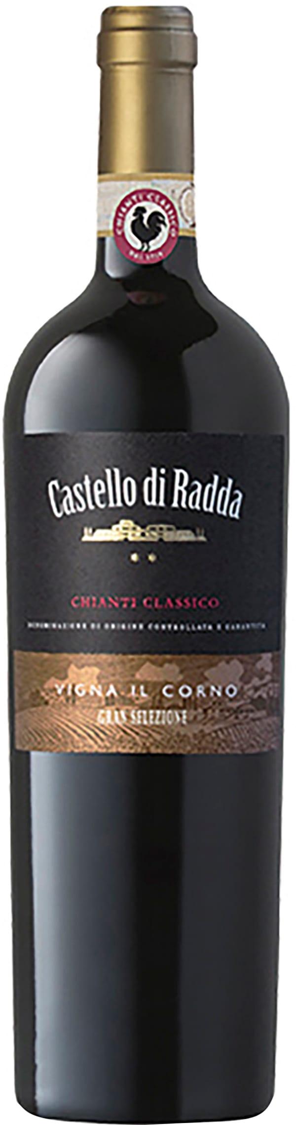 Castello di Radda Chianti Classico Gran Selezione Vigna Il Corno 2015