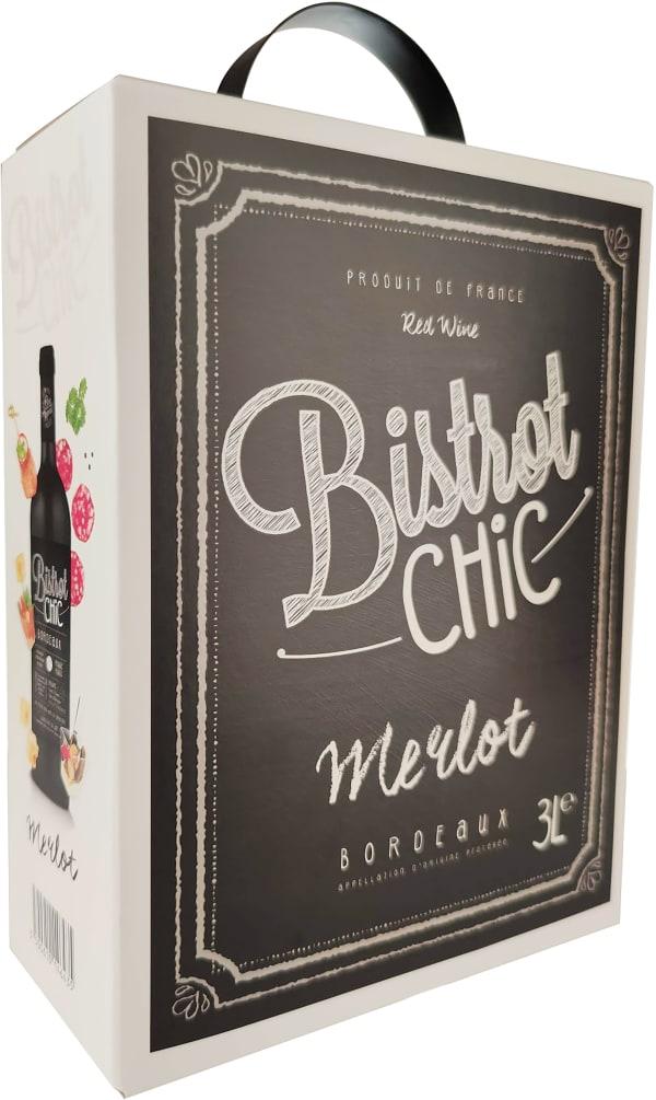 Bistrot Chic Merlot 2018 bag-in-box