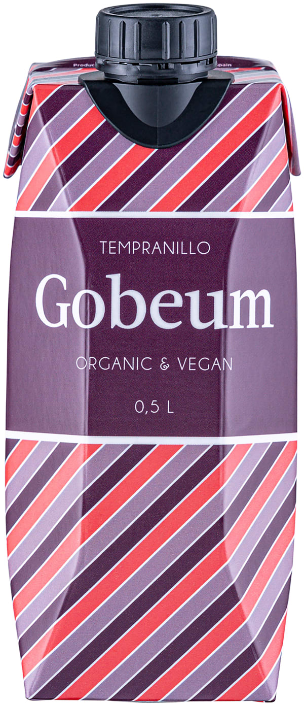 Gobeum Organic Tempranillo 2020 carton package