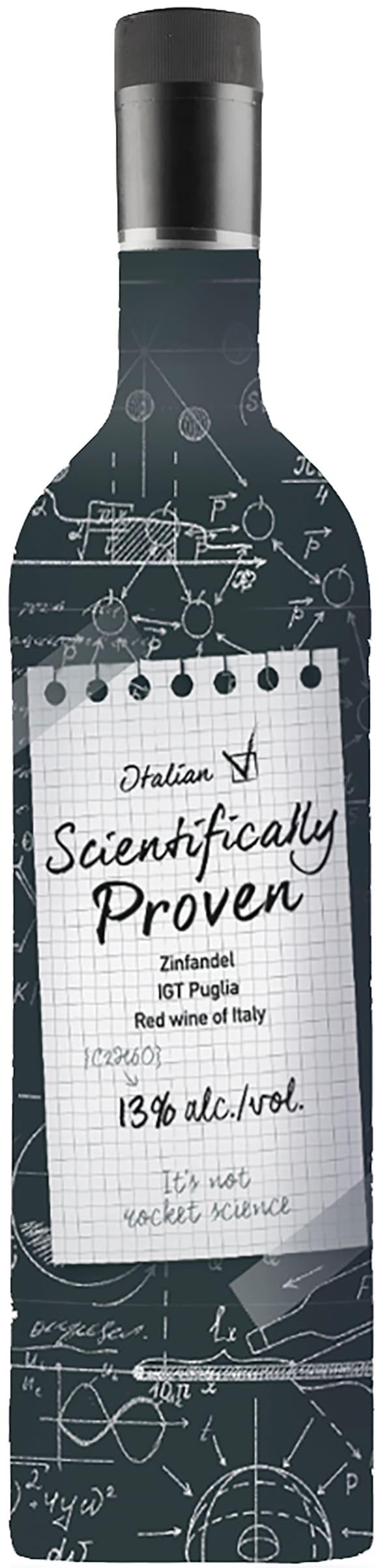 Scientifically Proven Italian Zinfandel plastflaska
