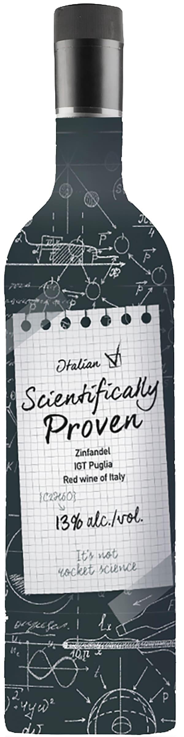Scientifically Proven Italian Zinfandel plastic bottle