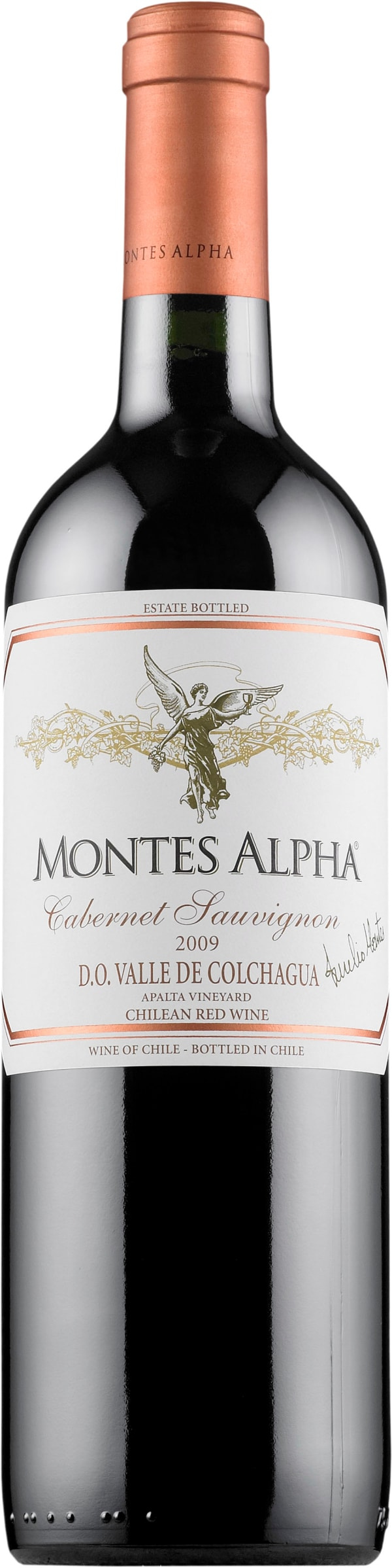 Montes Alpha Cabernet Sauvignon 2016 gift packaging