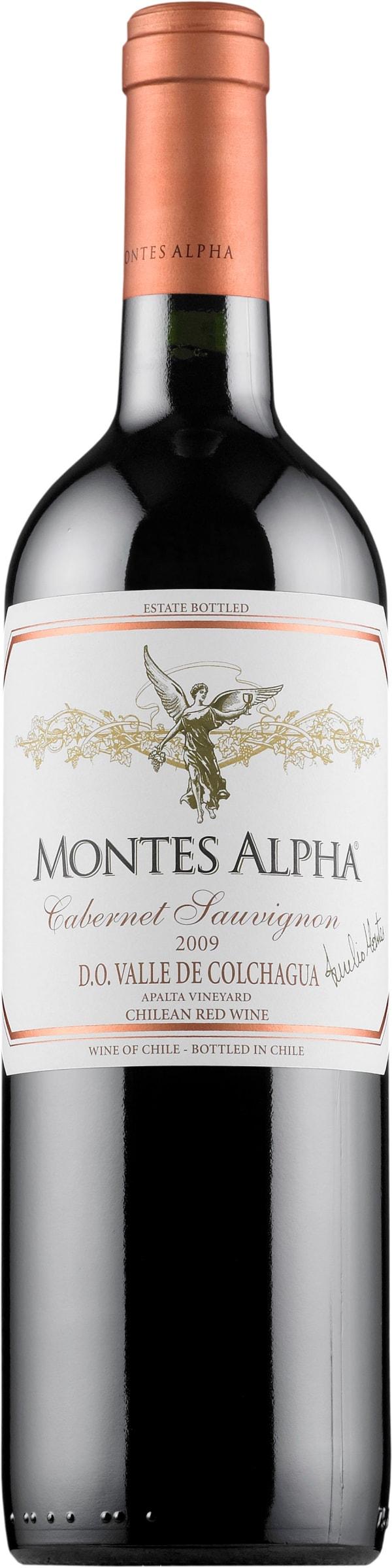 Montes Alpha Cabernet Sauvignon 2017 gift packaging