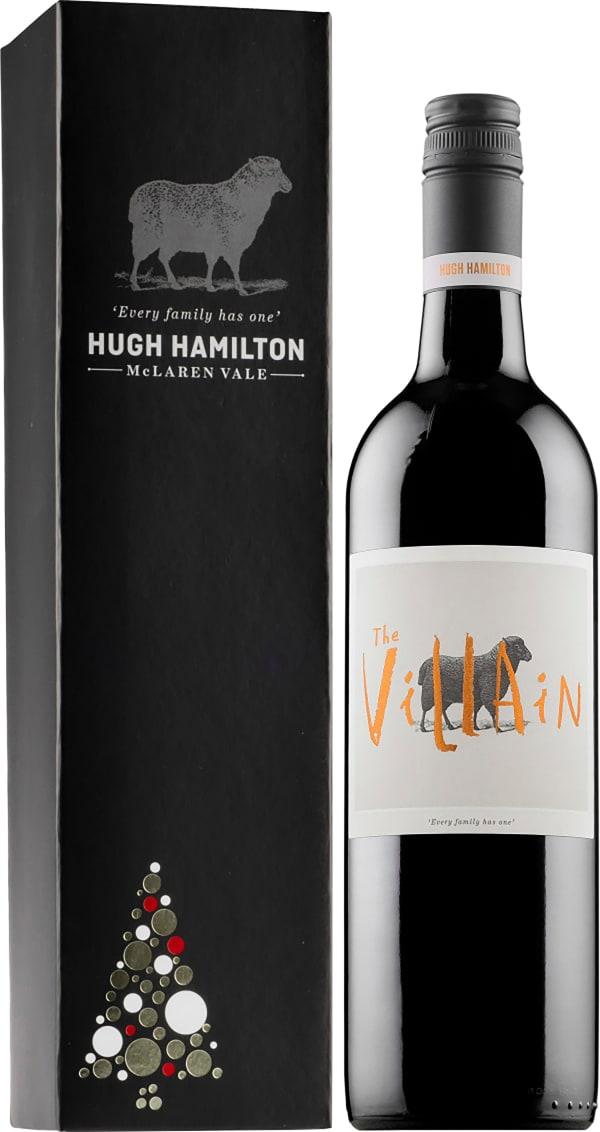 Hugh Hamilton The Villain Cabernet Sauvignon 2017 presentförpackning