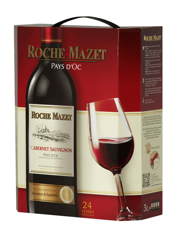 Roche Mazet Cabernet Sauvignon bag-in-box
