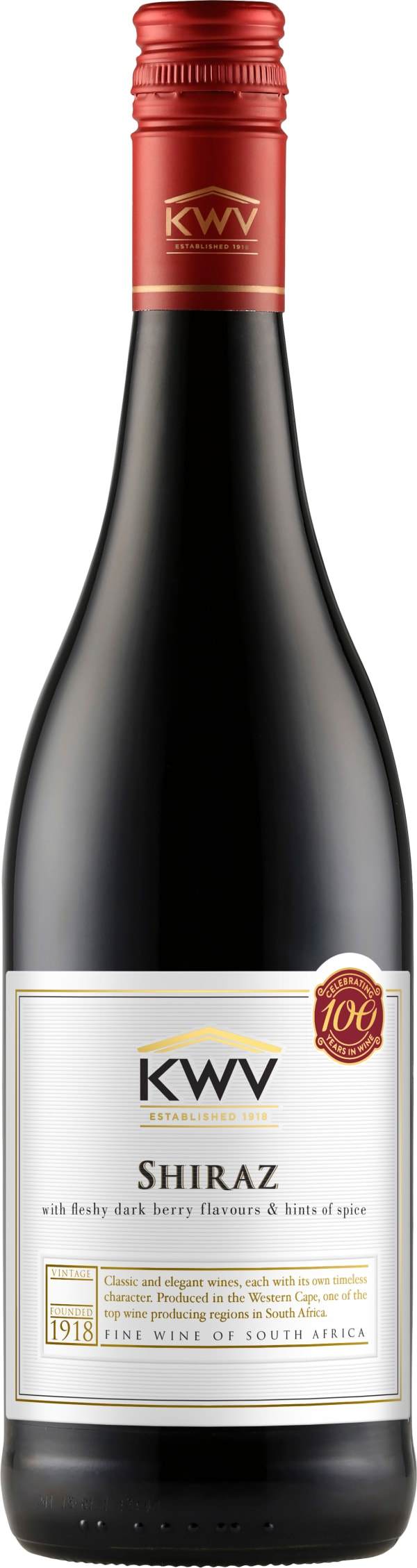 KWV Classic Collection Shiraz 2018
