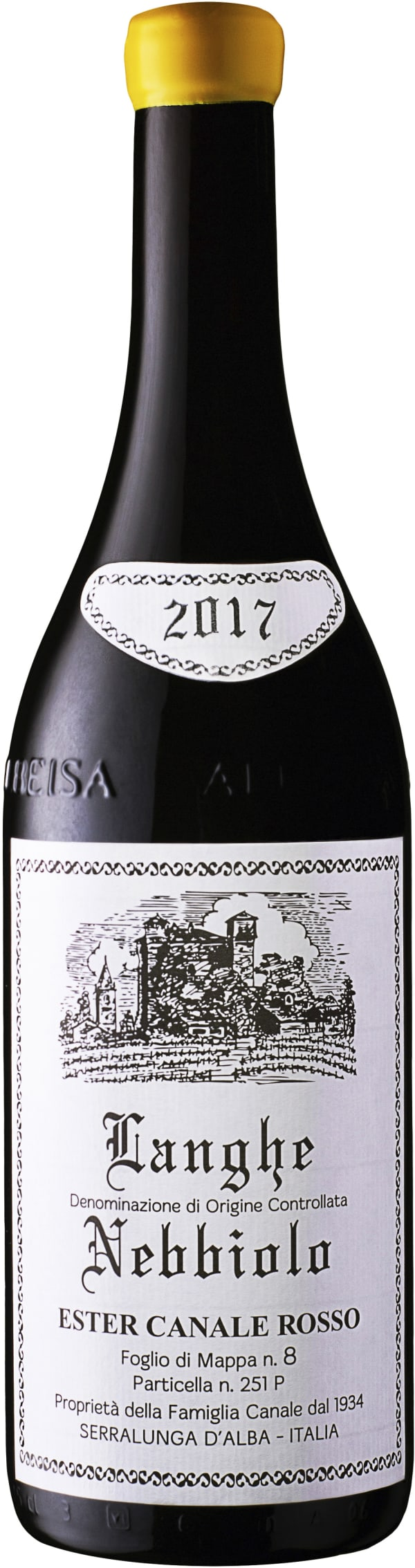 Ester Canale Rosso Langhe Nebbiolo 2017