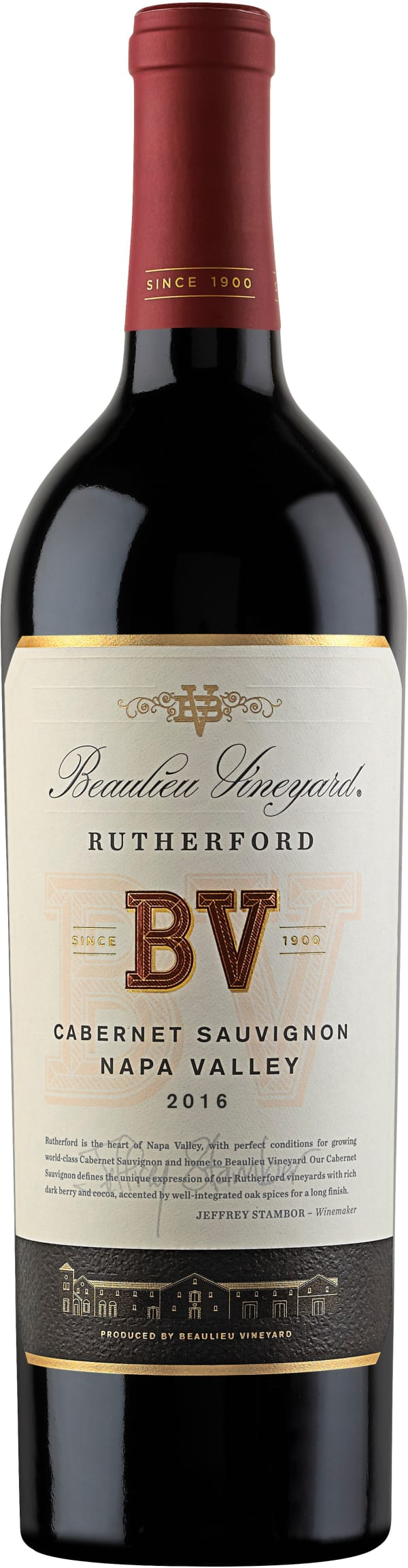 Beaulieu Vineyard Rutherford Cabernet Sauvignon 2016