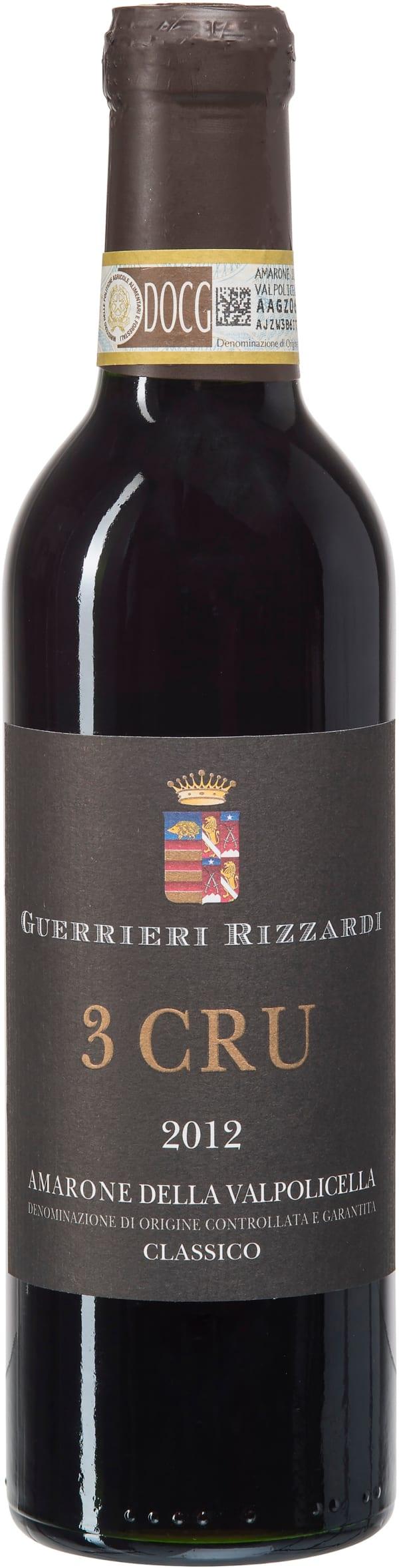 Guerrieri Rizzardi 3 Cru Amarone Classico 2012