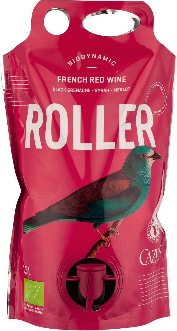 Cazes Roller Grenache Syrah Merlot Organic 2019 wine pouch