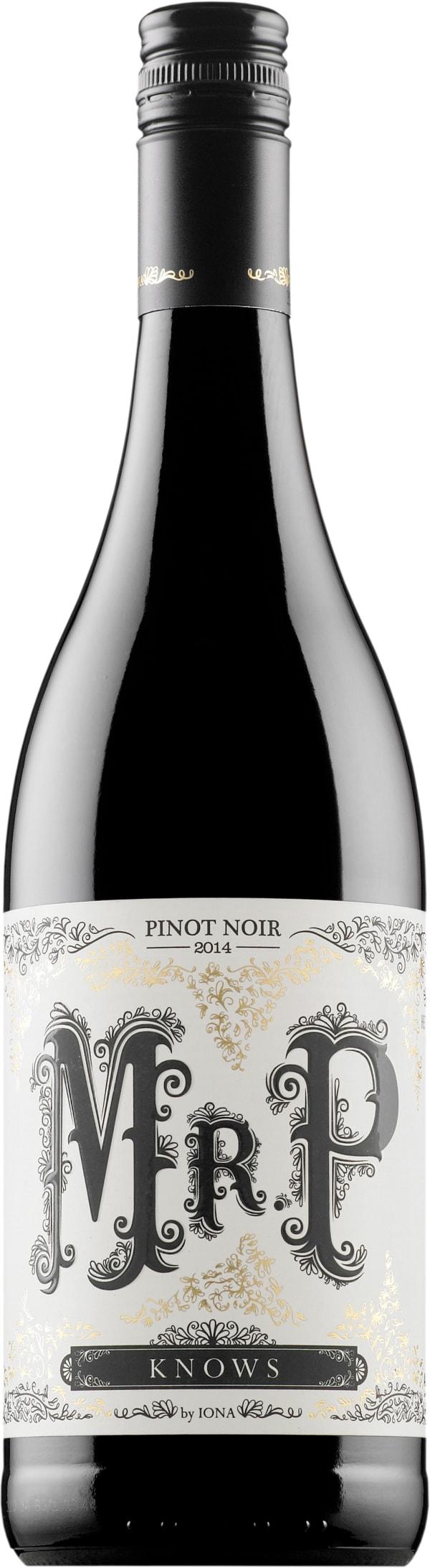 Iona Mr P Pinot Noir 2016