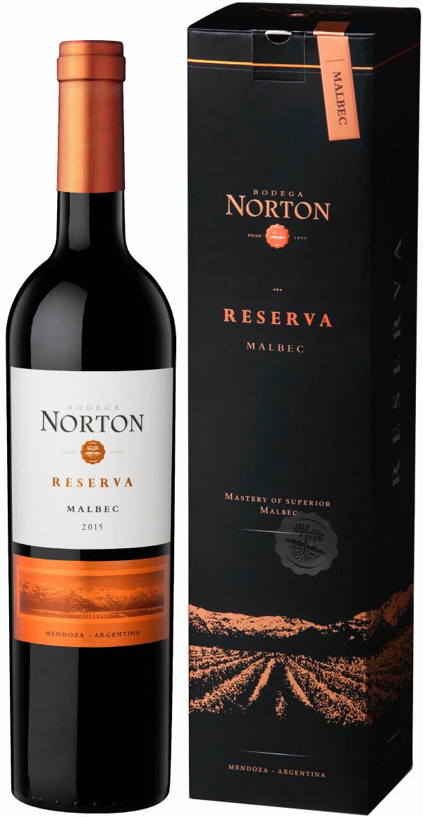 Norton Reserva Malbec 2017 gift packaging