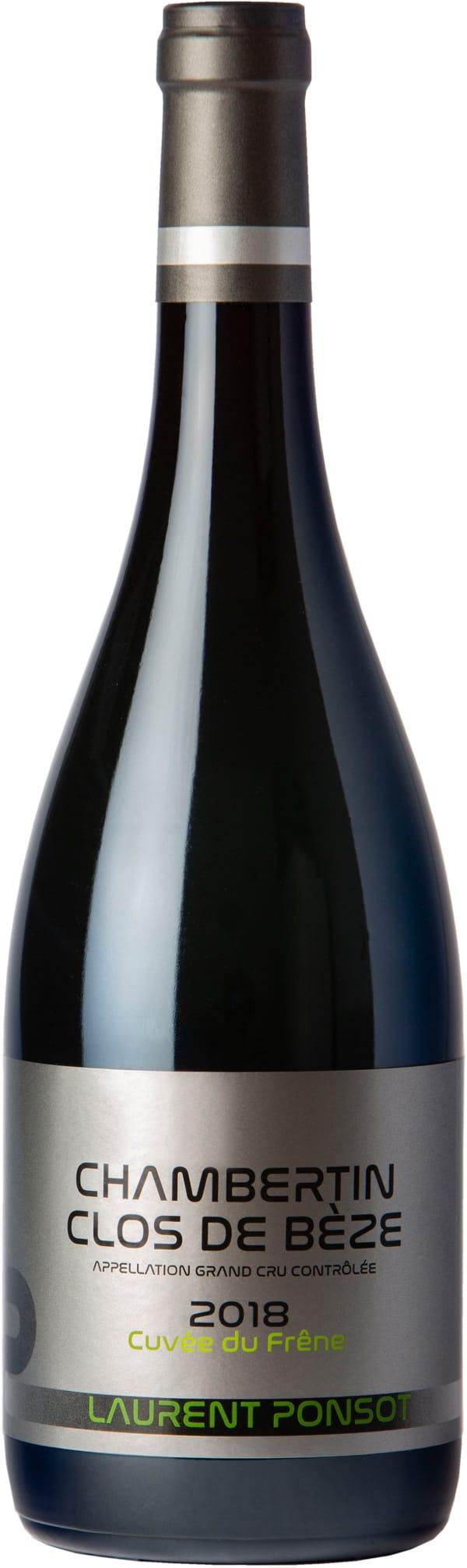 Laurent Ponsot Chambertin-Clos de Bèze Grand Cru Cuvée du Frêne 2018