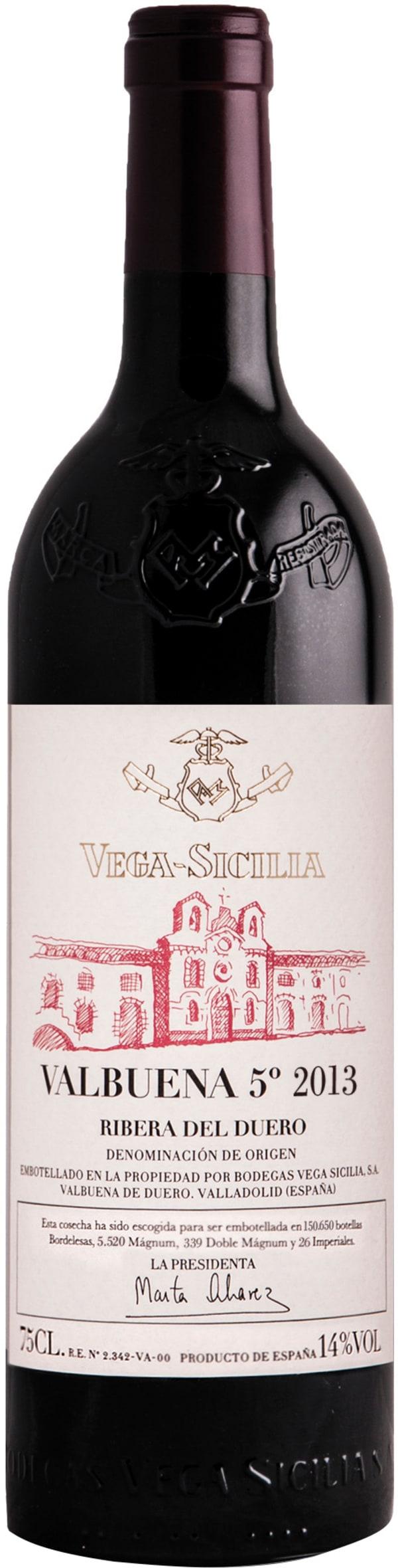 Vega-Sicilia Valbuena 5 2013