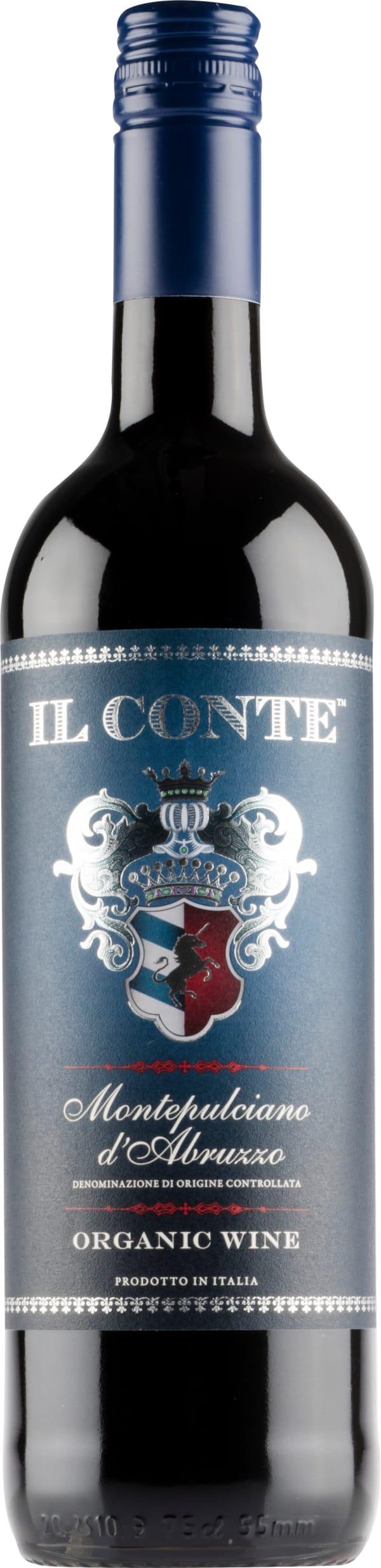 Il Conte Montepulciano d'Abruzzo Organic 2017