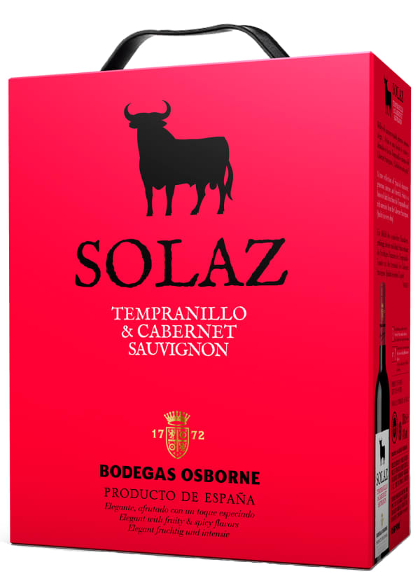 Osborne Solaz 2014 bag-in-box