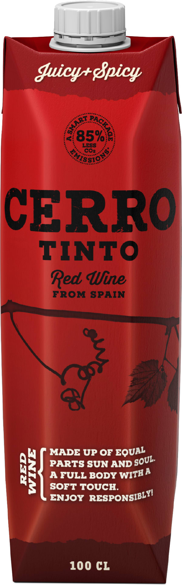 Cerro Tinto carton package