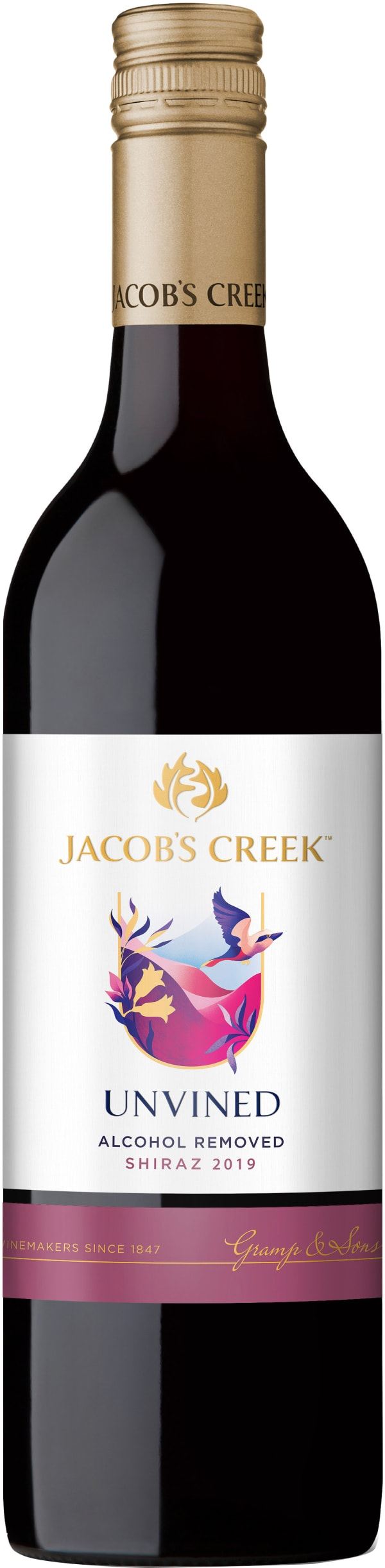 Jacob's Creek UnVined Shiraz 2018