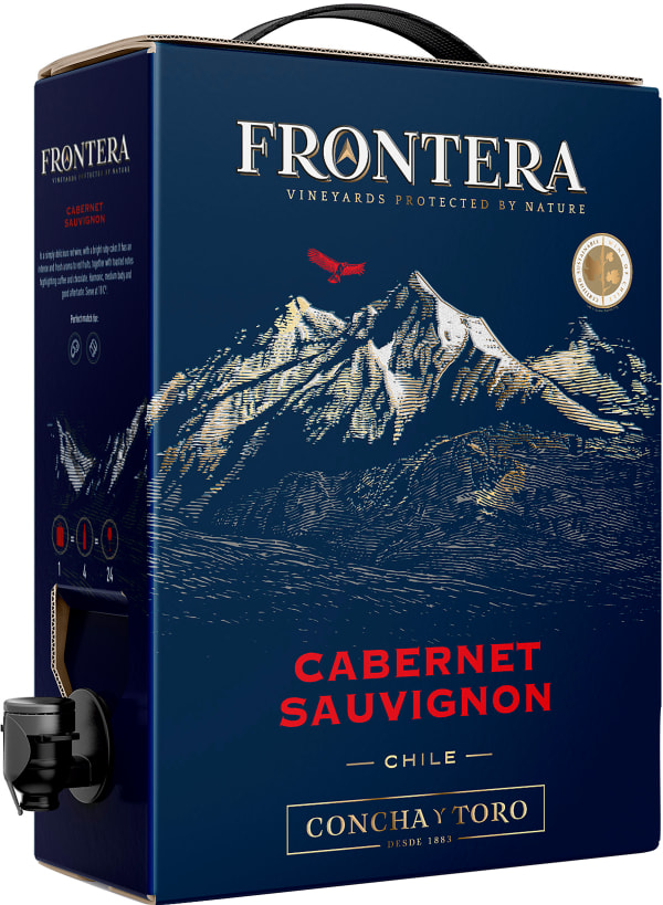 Frontera Cabernet Sauvignon 2018 lådvin