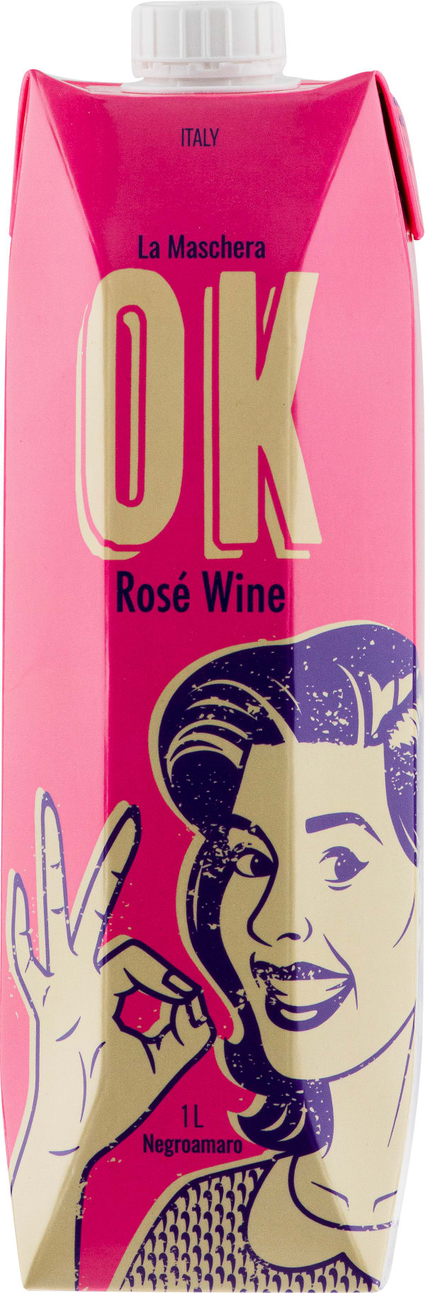 La Maschera Ok Rose 2020 carton package
