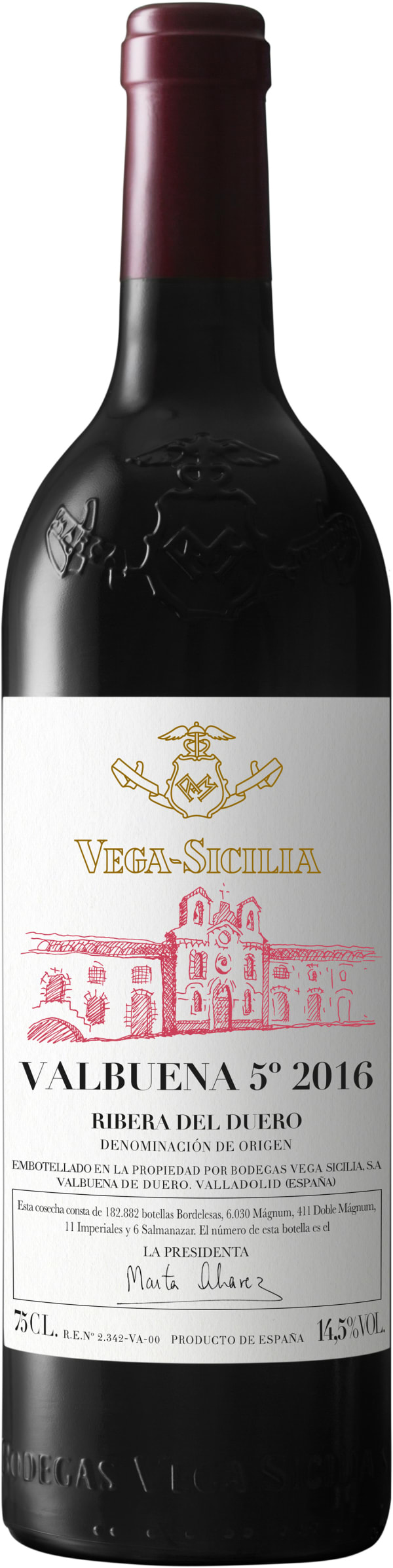 Vega-Sicilia Valbuena 5° Magnum 2016