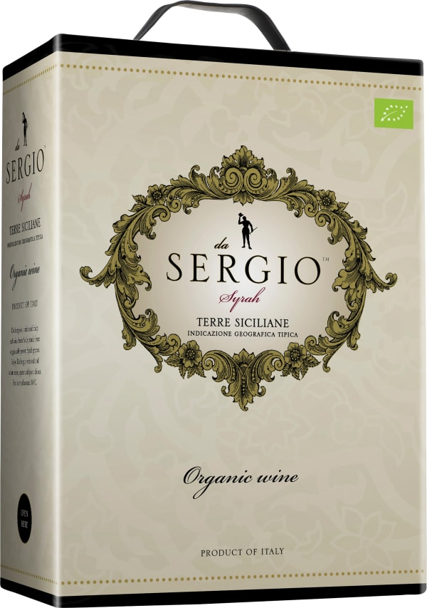 Da Sergio Organic 2018 bag-in-box