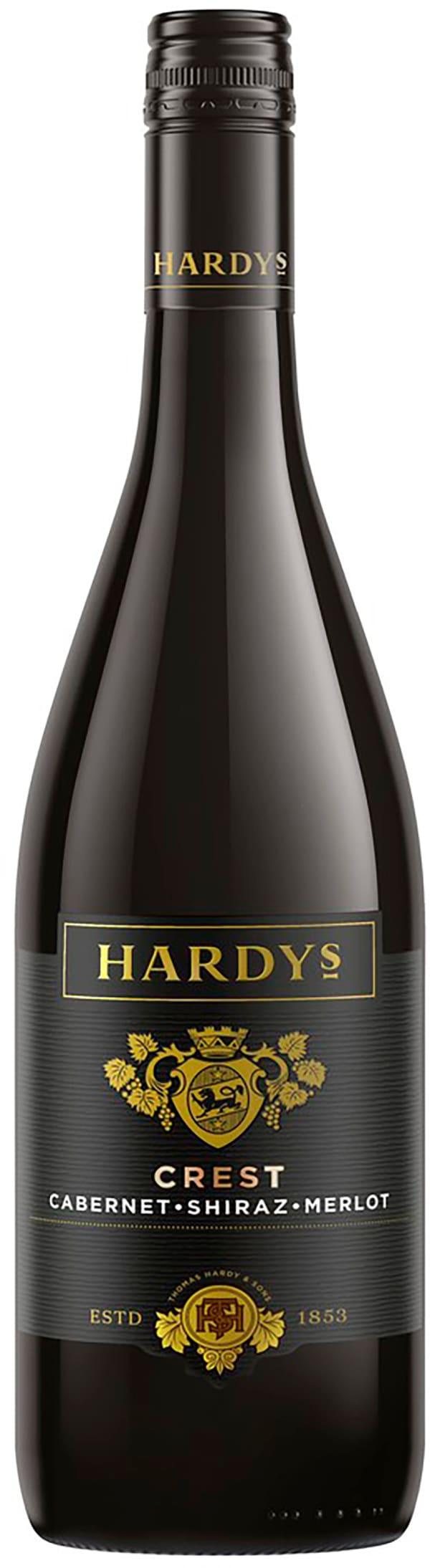 Hardys Crest Cabernet Shiraz Merlot 2017