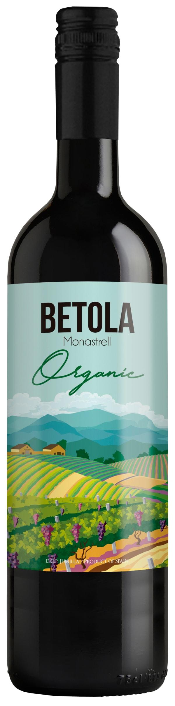 Betola Organic Monastrell 2017