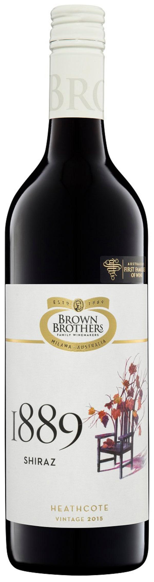 Brown Brothers Shiraz 2015