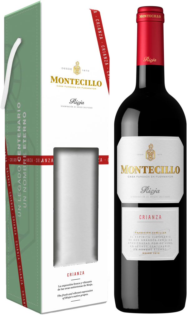Montecillo Crianza 2016 presentförpackning
