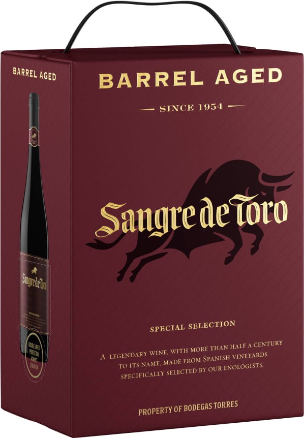 Sangre de Toro Barrel Aged 2016 bag-in-box
