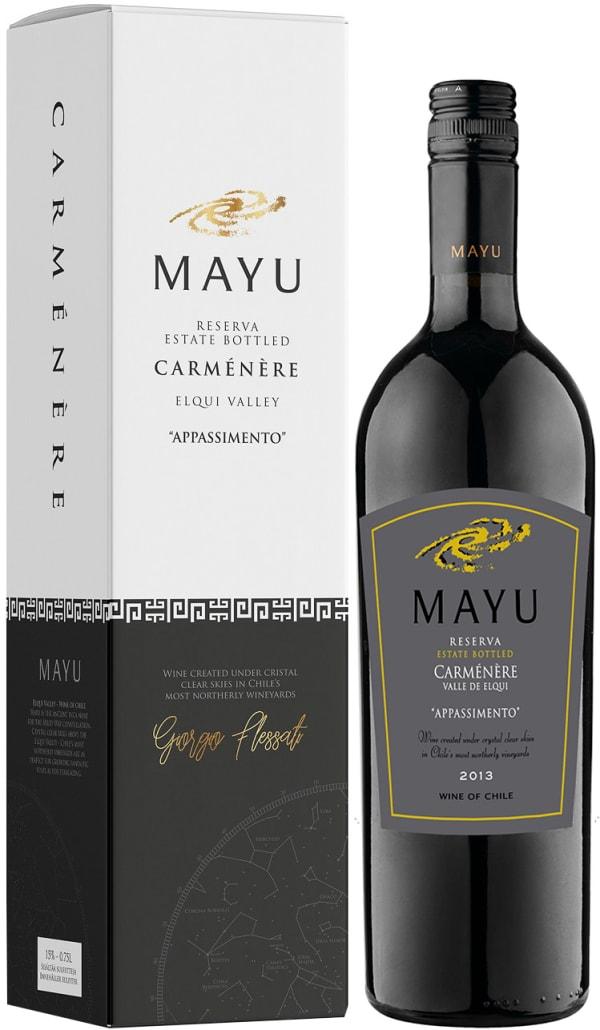 Mayu Reserva Carménère 2016 presentförpackning