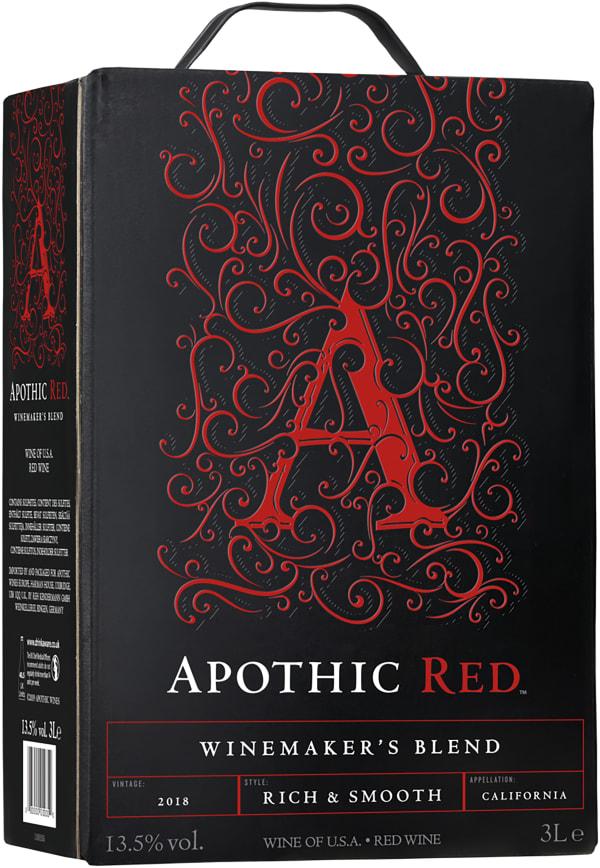 Apothic Red 2018 lådvin